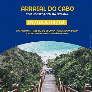 ARRAIAL DO CABO - RJ (DIAS DA SEMANA)