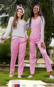 Pijama Adulto Silk / Ref 280