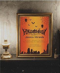 Convite Halloween ou Identidade Visual - Morcegos [Artes Digitais]