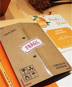 Convite Chá de Casa Nova ou Identidade Visual - Mudança [Artes Digitais]