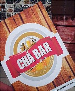 Convite Chá Bar - Brahma [Arte Digital]