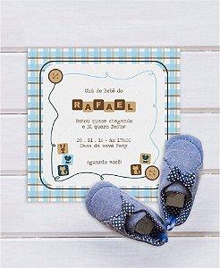 Convite Chá de Bebê ou Identidade Visual - Animais [Artes Digitais]