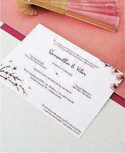 Convite de Casamento ou Identidade Visual - Cerejeira [Artes Digitais]