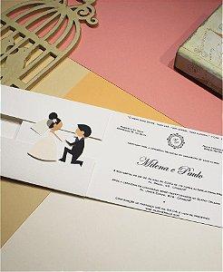 Convite de Casamento ou Identidade Visual - Encontro Dos Noivos [Artes Digitais]