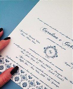 Convite de Casamento ou Identidade Visual - Clássico Arabescos [Artes Digitais]