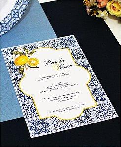 Convite de Casamento ou Identidade Visual - Português [Artes Digitais]