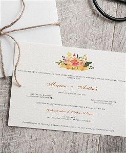 Convite de Casamento ou Identidade Visual - Buquê Primavera [Artes Digitais]