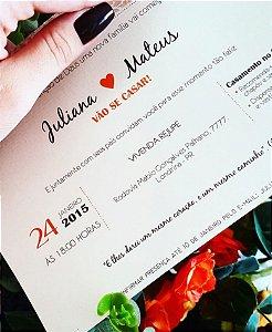 Convite de Casamento ou Identidade Visual - Moderno Delicado [Artes Digitais]