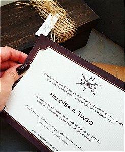 Convite de Casamento ou Identidade Visual - Rústico Moderno [Artes Digitais]