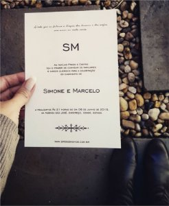 Convite de Casamento ou Identidade Visual - Moderno Clean [Artes Digitais]