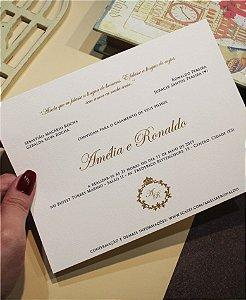 Convite de Casamento ou Identidade Visual - Clássico Listras [Artes Digitais]
