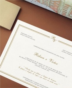 Convite de Casamento ou Identidade Visual - Clássico Iniciais [Artes Digitais]