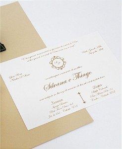 Convite de Casamento ou Identidade Visual - Clássico Brasão II [Artes Digitais]