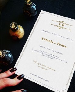 Convite de Casamento ou Identidade Visual - Contemporâneo Delicado [Artes Digitais]