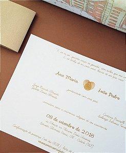 Convite de Casamento ou Identidade Visual - Digitais [Artes Digitais]