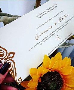 Convite de Casamento ou Identidade Visual - Moderno Comprido [Artes Digitais]