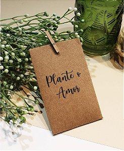 Lembrancinha Plante o Amor [Arte Digital]