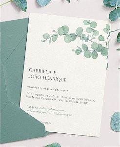 Convite de Casamento ou Identidade Visual - Eucalipto [Artes Digitais]