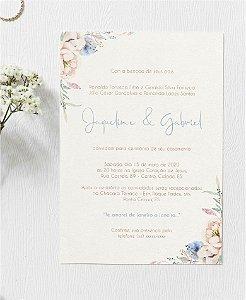 Identidade visual: artes avulsas, kits ou convite de casamento - floral serenity e blush pink [artes digitais]