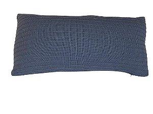 Almofada em Tricot - 30x60cm - LR2022 / Tirreno