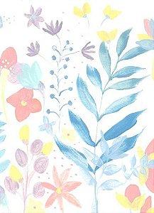 Papel de Parede Candy Floral
