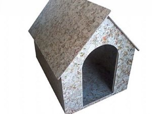Casinha de Cachorro modelo duas águas N.4