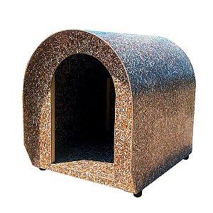 Casinha de cachorro reciclada médio porte