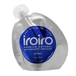 Tinta Semipermanente Iroiro - 30 Violet