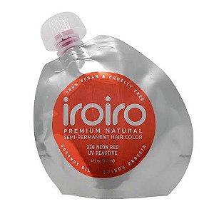 Tinta Semipermanente Iroiro - 330 Neon Red