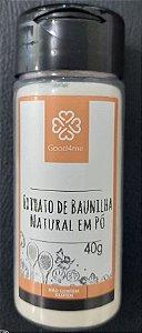 Extrato de Baunilha Natural em Pó - 40g