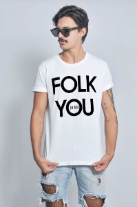 Camiseta Masculina Folk You