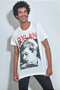 Camiseta Masculina Dylan Listen To Literature