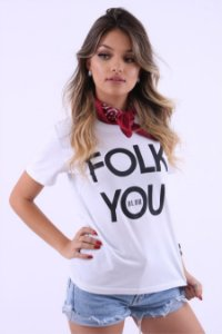 Camiseta Feminina Folk You