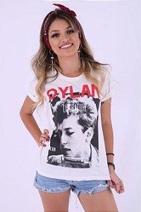 Camiseta Feminina Dylan Listen To Literature