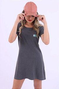 Vestido Liso Blur Stone