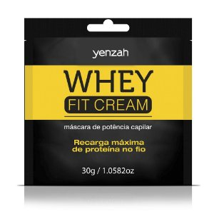 YENZAH WHEY FIT CREAM MÁSCARA SACHÊ 30G