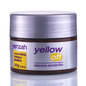 YENZAH YELLOW OFF MÁSCARA EXTRA BRILHO 300G