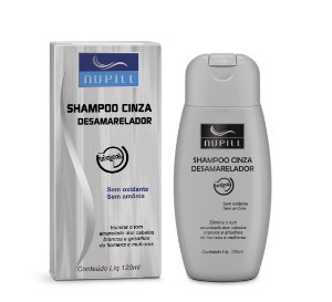 NUPILL SHAMPOO CINZA DESAMARELADOR 120ML