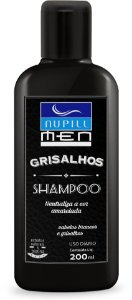 NUPILL MEN SHAMPOO GRISALHOS 200ML