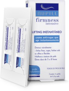 NUPILL FIRMNESS INTENSIVE LIFTING INSTANTÂNEO C/4 SACHÊS 1,2G