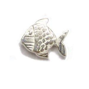 Mini Berloque Peixe em Prata 925