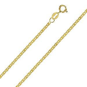 Corrente Piastrine com 50 cm em Ouro Amarelo 18K-750