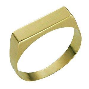 Anel Chapinha em Ouro Amarelo 18k
