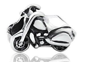 Berloque Moto em Prata 925  - Linha Dreams
