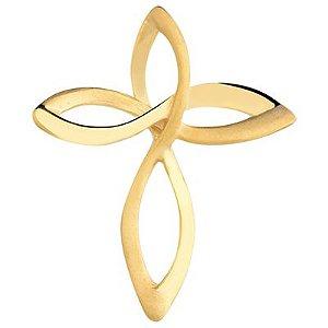 Pingente Cruz Infinita em Ouro 18k-750