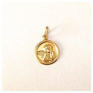 Medalha Anjo da Guarda em Ouro 18k