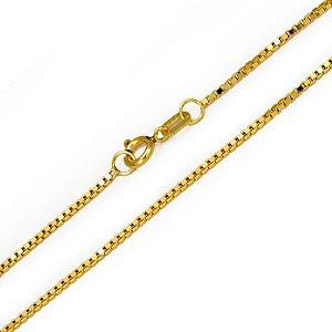 Corrente Veneziana em Ouro Amarelo 18k - 40cm