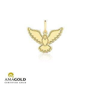 Pingente Espirito Santo em Ouro Amarelo 18K-750