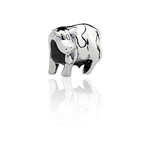 Berloque Separador Vaca Em Prata 925