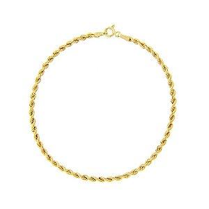 Pulseira Corda em ouro amarelo 18k